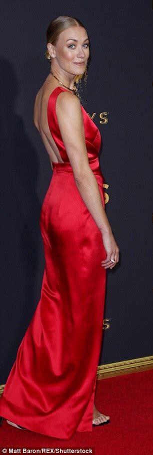Yvonne Strahovski reveals secret summer wedding at Emmys ...