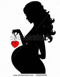 13 best Pregnant Silhouette images on Pinterest ...
