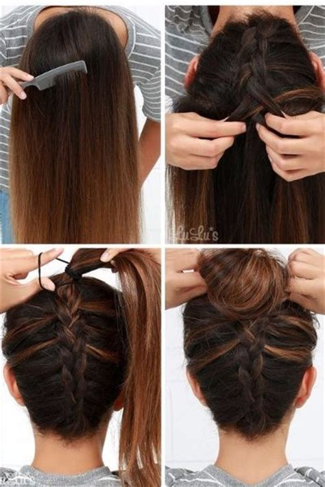 50 incredibly easy hairstyles for school to save you time