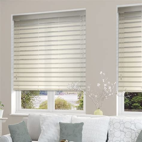 Blinds 2 Go by White Wooden Blinds 64mm Stunning Antique White Wooden