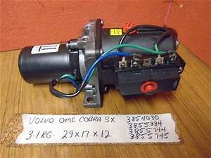 Volvo Omc Cobra V6 V8 Power Trim Tilt 3854030  3855334