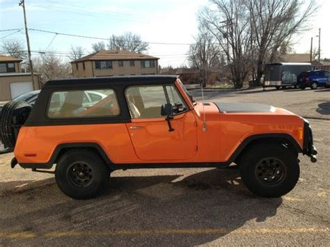 1973 jeep commando sell used 1973 jeep commando base 4 2l in cheyenne