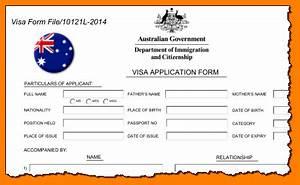 new australian visa application form With document checklist tourist visa australia