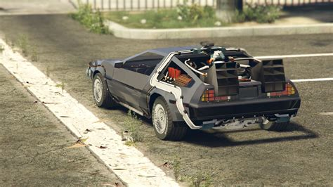 Amc Delorean Time Machine  Véhicules  Téléchargements Gta 5