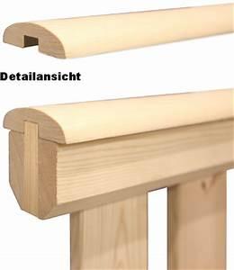Holzpfosten Mit Nut : holz gel nderzaun premium hanlaufleiste einzeln ab 6 49eur ~ Yasmunasinghe.com Haus und Dekorationen