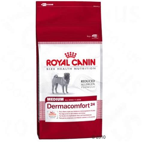 pate pour chien royal canin royal canin health nutrition dermacomfort medium croquettes pour chien zooplus