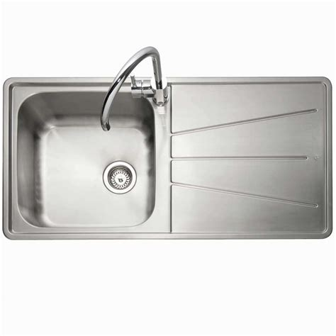 kitchen sinks and taps caple blaze 100 stainless steel sink and washington tap 6057