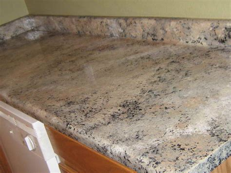 how to repairs paint countertops to look like granite