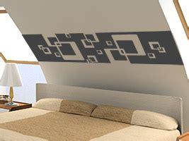 schlafzimmer dachschräge anleitung wandtattoo für die dachschräge wandtattoos an schrä