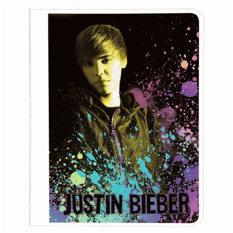 Mead Mead Justin Bieber Composition Book, 80ct Wide Rule