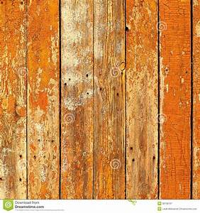old, wooden, planks, painted, with, brown, paint, cracked, by, a, rustic, b, stock, image