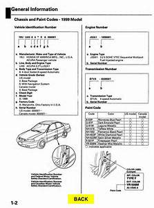 2001 Acura Tl Service Repair Manual