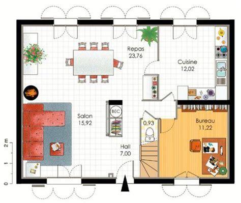 etag e bureau pavillon classique dé du plan de pavillon classique