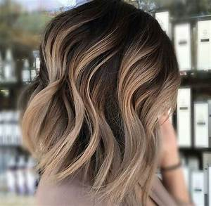Balayage Cheveux Frisés : balayage cheveux tendance 2017 nos meilleures propositions coiffure simple et facile ~ Farleysfitness.com Idées de Décoration