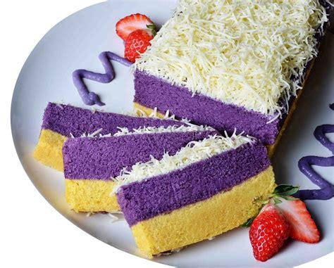 kue lapis talas santapan legit khas bogor