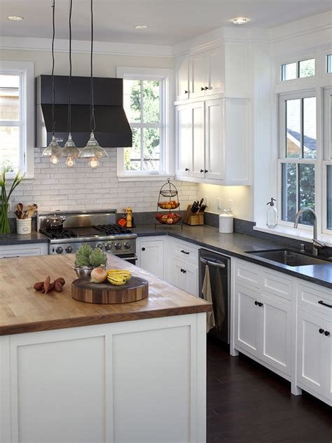 examples  stylish butcher block countertops