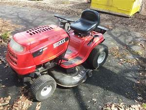 Huskee Lt 4200 Riding Mower For Sale On Municibid Com