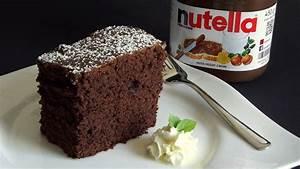 Nutella Kuchen selber machen