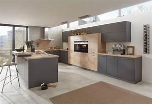 Küche Modern Mit Kochinsel Holz : musterring k che mr2300 mr2850 farben nero grau asteiche modern k che hannover ~ Bigdaddyawards.com Haus und Dekorationen