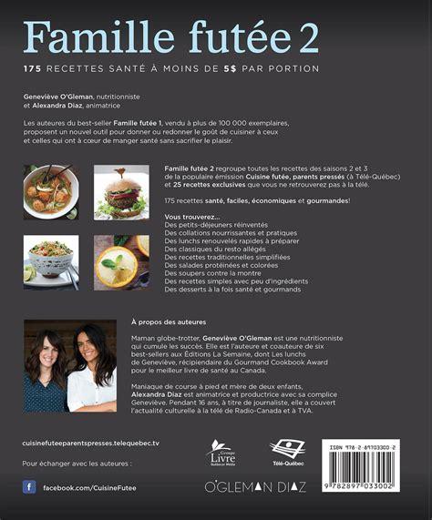 livre cuisine homme livre famille futée 2 175 recettes santé à moins de 5
