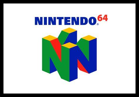 Nintendo 64 Logo Retro Game Cases