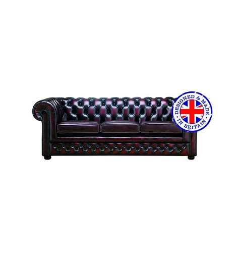 Designer Chesterfield Sofa Chesterfield Designer Leather 3 Seater Sofa