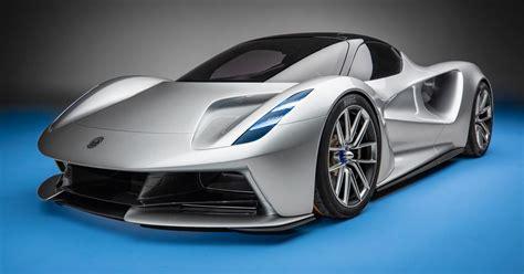 lotus evija electric hypercar aims  shy