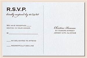 Rsvp postcard at the end of a seal and send invite also for How to send wedding invitations with rsvp