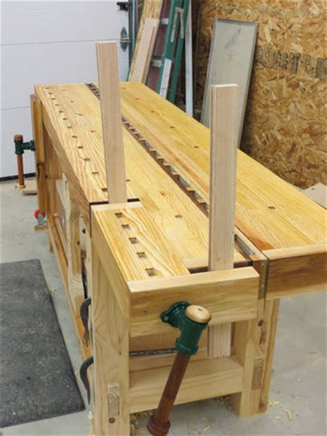 syp split top roubo workbench  grfrazee  lumberjocks