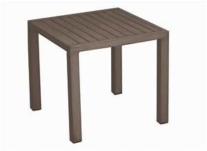 Table Carrée De Jardin : table basse de jardin carr e 40 cm lou tables basses proloisirs ~ Melissatoandfro.com Idées de Décoration