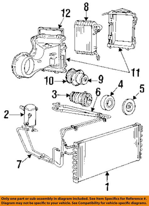Gm A C Compressor Wiring Diagram by Gm Oem A C Ac Compressor 88964871 Ebay