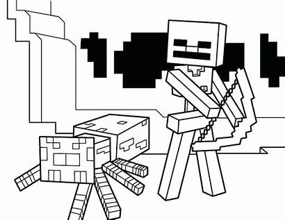 Minecraft Sword Coloring Pages Diamond Printable Colors