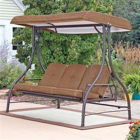 canap swing 3 seat swing with canopy