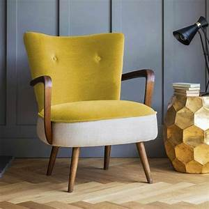 Petit Fauteuil Salon : fauteuil jaune la couleur intemporelle et tendance ~ Teatrodelosmanantiales.com Idées de Décoration