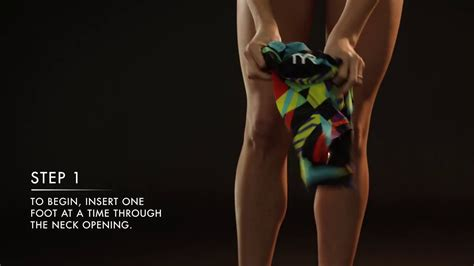 TYR - How To Put On Your Tech Suit - Women's - YouTube
