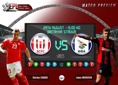Stoke City vs West Brom Preview   Team News, Key Men and ...