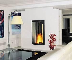 Cheminée Double Face : cheminee suspendue double face ~ Preciouscoupons.com Idées de Décoration