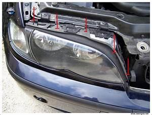 Nettoyer Vitre Voiture : e46 d montage vitre de phare avant nettoyage entretien ~ Mglfilm.com Idées de Décoration