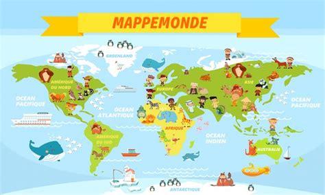 carte du monde enfant papier peint enfant carte du monde 224 prix r 233 duit site papier peint