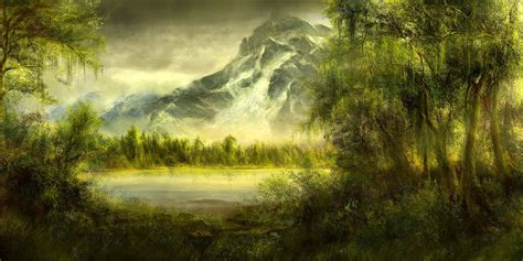 Nature Painting Wallpaper by Nature Wallpaper Set 63 2013 Wallpapers