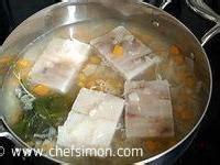 cuisiner poisson surgelé poisson au court bouillon recette poisson court bouillon
