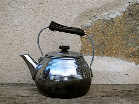 stove kettle kettles 1960 pike darty chrome
