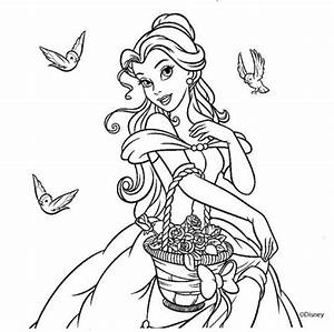 Princesas Disney Para Colorear