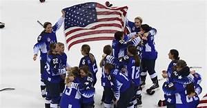 U.S. women end Canada's streak to win hockey gold at ...