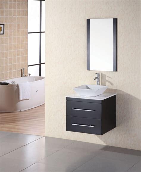 modern single sink bathroom vanity  espresso