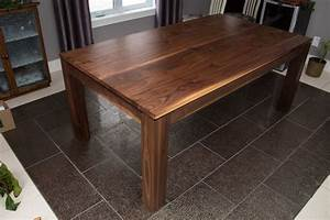 Table En Noyer : table en noyer noir ~ Teatrodelosmanantiales.com Idées de Décoration