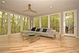 Maple floors with gray walls Mayo Woodlands - modern