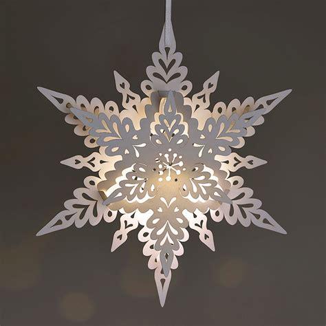 white christmas snowflake lantern  deco range
