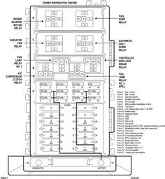 98 Jeep Fuse Box Location by 93 98 Jeep Zj 4 0 Front Suspension And Steering Diagram