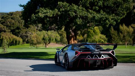 Lamborghini Veneno Supercar, Hd Cars, 4k Wallpapers